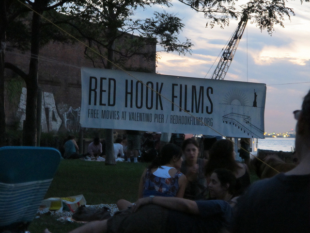 Tonight's the night! Fundraiser for the 2012 season of Red Hook Flicks.